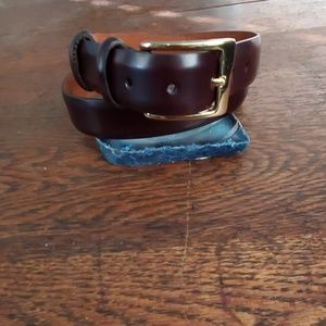 Almost new Cole Haan leather belt